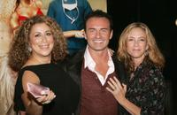 Roma Maffia, Julian McMahon and Ally Walker at the Season Four premiere screening of