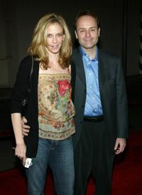 Ally Walker and John Landgraf at the third season premiere screening of