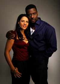 Monique Gabriela Curnen and Eamonn Walker at the Tribeca Film Festival 2010 in New York.