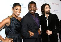Gabrielle Union, Eamonn Walker and Adrien Brody at the premiere of