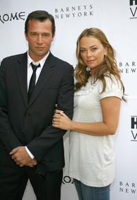 Polly Walker and James Purefoy at a cocktail reception to celebrate the DVD release of