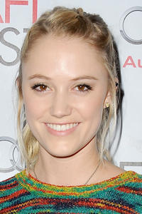 Maika Monroe at the AFI Fest 2014.