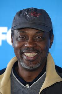 Basil Wallace at the celebrity golf challenge to honor the nominees of the 39th Annual NAACP Image Awards.
