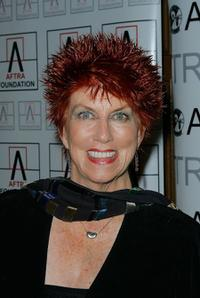 Marcia Wallace at the 2009 AFTRA Media and Entertainment Excellence Awards.