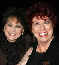Suzanne Pleshette and Marcia Wallace at the celebrity opening night of the Broadway bound show