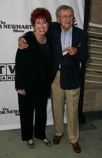 Marcia Wallace and Bill Daily at the Paley Center for Media and TV Land salute of