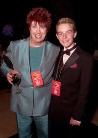 Marcia Wallace and her son Mikey at the Comedy Central's post-party after the 15th Annual American Comedy Awards.