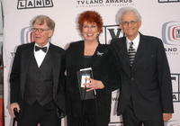 Jack Riley, Marcia Wallace and Peter Bonerz at the 2005 TV Land Awards.