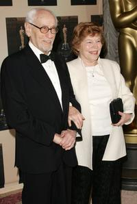 Eli Wallach and Anne Jackson at the Official Oscar Night Party.