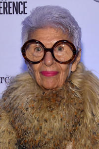 Iris Apfel at the The New York Times International Luxury Conference Speaker Dinner.