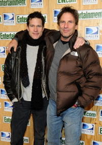 Dylan Walsh and director Hart Bochner at the 2008 Sundance Film Festival.