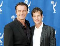 Dylan Walsh and Julian McMahon at the Behind The Scenes Double Header with FX's