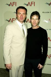 Dylan Walsh and Julian McMahon at the AFI's 2003 Awards Luncheon honoring Film and Television creative teams.