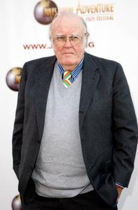 M. Emmet Walsh at the Jules Verne Adventure Film Festival Special Awards Presentation.