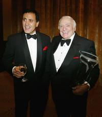 Ernest Borgnine and Frank Stallone at the World May Hear Awards Gala.