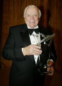 Ernest Borgnine at the World May Hear Awards Gala.