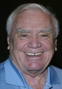 Ernest Borgnine at the California screening of