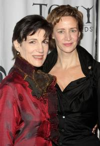Harriet Walter and Janet McTeer at the 2009 Tony Awards Meet the Nominees press reception.