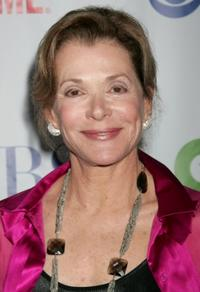 Jessica Walter at the CW/CBS/Showtime/CBS Television TCA party.
