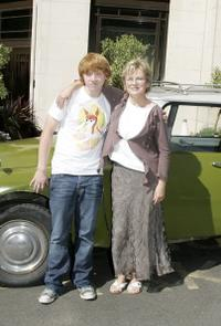 Julie Walters and Rupert Grint at the photocall to promote the film