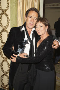 Robert Lindsay and Zoe Wanamaker at the 2007 TV Quick and TV Choice Awards in England.
