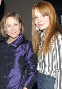 Zoe Wannamaker and Lauren Ambrose at the after party of the opening of