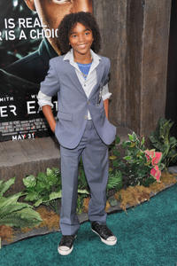 Jaden Martin at the New York premiere of