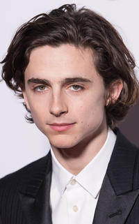 Timothee Chalamet at the BAFTA nominees party in London.