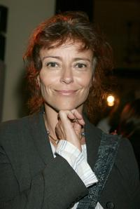 Rachel Ward at the Collette Dinnigan Resort 2005 Collection Launch.