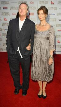 Bryan Brown and Rachel Ward at the world premiere of