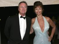 Rachel Ward and Bryan Brown at the The Mother Of All Balls.