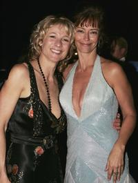 Rachel Ward and Angie Milliken at the The Mother Of All Balls.