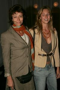Rachel Ward and daughter Rosie Brown at the David Jones Spring Summer Collections Launch.