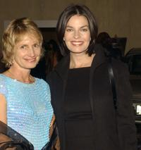 Sela Ward and attorney Melanie Cooh at the Big Brothers and Big Sisters Rising Stars Gala.