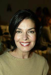 Sela Ward at the Kate O'Connor Spring 2005 show during the Mercedes-Benz Fashion Week.
