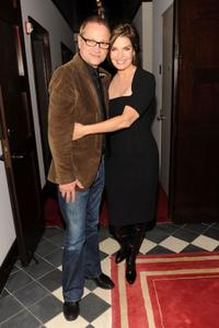 Clint Culpepper and Sela Ward at the after party of the New York premiere of