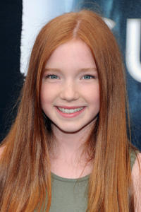 Annalise Basso at the prmiere of