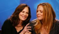Lesley Ann Warren and Mary McCormick at the 2007 Summer TCA Tour.