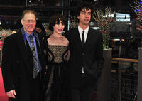 David Warshofsky, Miranda July and Hamish Linklater at the premiere of