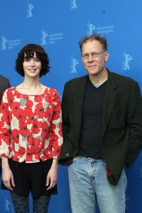 Miranda July and David Warshofsky at the photocall of
