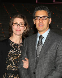 Katherine Borowitz and John Turturro at the Vanity Fair party during the 2009 Tribeca Film Festival.