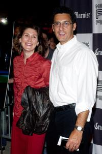 Katherine Borowitz and John Turturro at the screening of