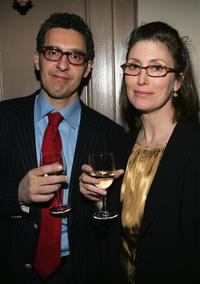 John Turturro and his wife Katherine Borowitz at the