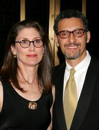 Katherine Borowitz and John Turturro at the 61st Annual Tony Awards.