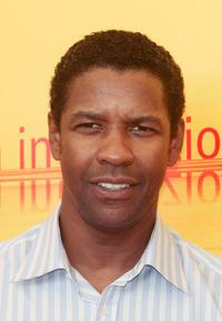 Denzel Washington at the photocall of