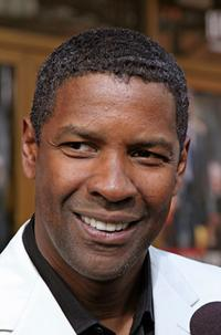 Denzel Washington at the premiere of