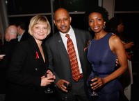 Martha Plimpton, Ruben Santiago-Hudson and Sharon Washington at the 28th Annual Lucille Lortel Awards.