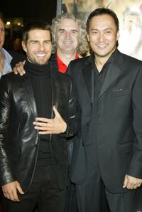 Ken Watanabe and Tom Cruise at the premiere of
