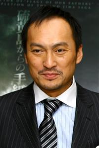 Ken Watanabe at the screening of the new movie