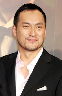 Ken Watanabe at the press conference promoting